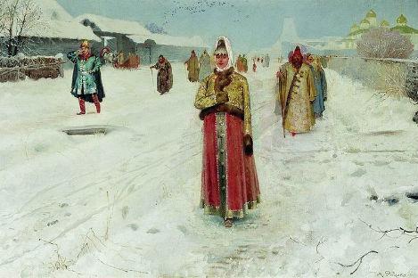 「日曜日」アンドレイ・リャブシキン