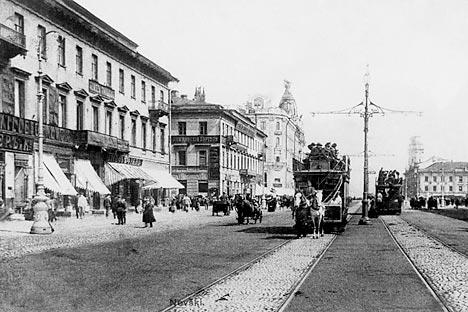 サンクトペテルブルグ、1907年。写真提供:タス通信