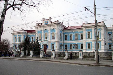 チュメニの元技術専門学校=アレクサンドル・ベリャーエフ撮影