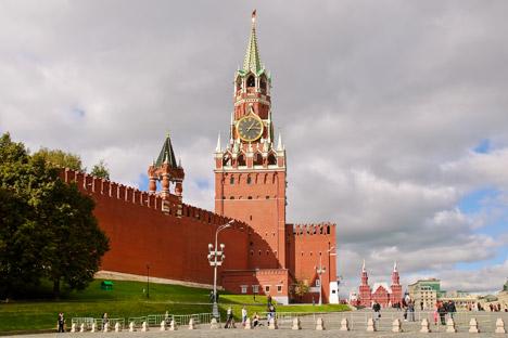 モスクワのクレムリン=Lori Legion Media撮影