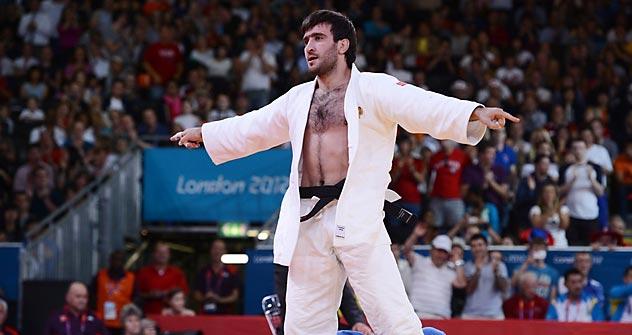 ロシアのマンスル・イサエフ選手が優勝した =Getty-Images撮影