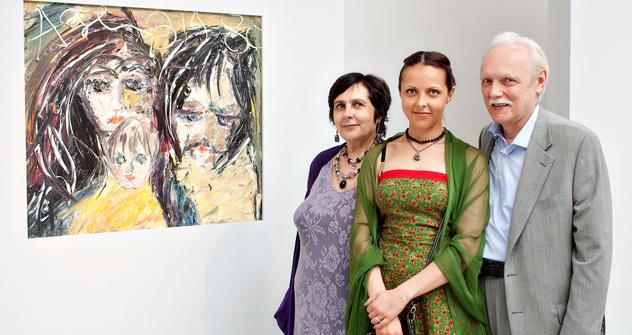 ナタリヤ・コスターキの肖像  写真提供:「ポリーナ・ロバチェフスカヤ」ギャラリー