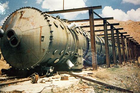 セミパラチンスク核実験場=A.ソロモノフ撮影/ロシア通信