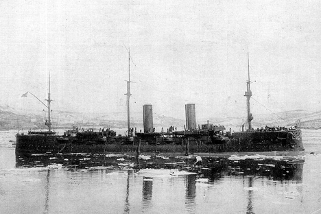 ロシア巡洋艦「リューリク」
