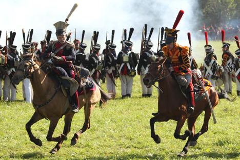 200年の歴史:ナポレオンの軍、ボロディノに再び現れる