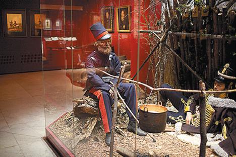 モスクワのパノラマ館兼博物館「ボロジノの会戦」 =エレナ・ポチェトヴァ撮影