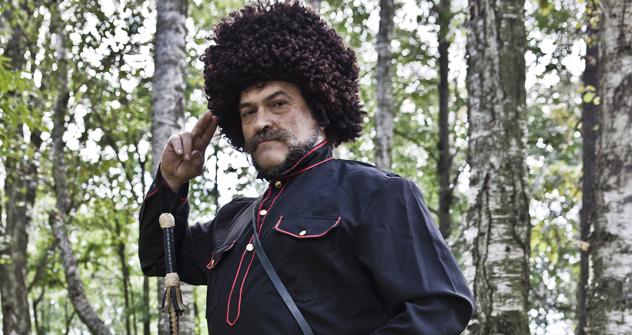 民間治療師、セルゲイ・ ネチャーエフさん =キリール・ラグーツコ撮影