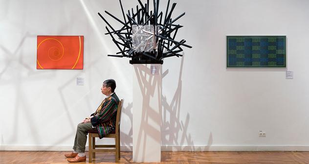 「モーセと瀕死の奴隷」、ミケランジェロ、プーシキン西洋美術館 =アンディ・フリーベルグ撮影