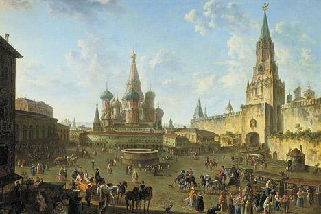 モスクワ、1801年