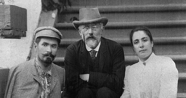 ピョートル・イリイチ・チャイコフスキー(1840~1893) =タス通信撮影