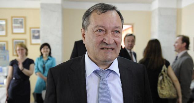 ロシア・フィギュア・スケート連盟のワレンチン・ピセエフ会長=タス通信撮影