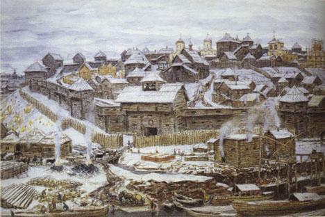 アポリナリー・ヴァスネツォフ、1921年。