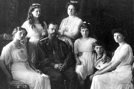 ニコライ2世の家族