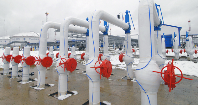 東シベリア・太平洋石油パイプライン =タス通信撮影