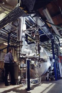 国際熱核融合実験炉(ITER) =写真提供:iter.org