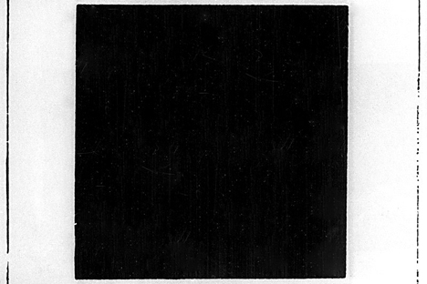カジミール・マレービチの「黒の方形」 =bridgemanart/fotobank撮影