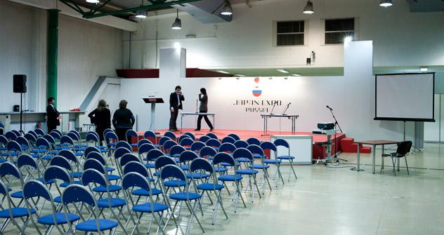 モスクワで開催された「ジャパン・エキスポ・イン・ロシア2012」の会場  =キリル・ラグツコ撮影