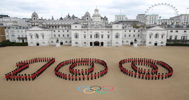 ロンドンオリンピックの開会式まで100日 =Vostock/ロイタ通信撮影