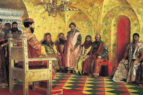 ロシアのロマノフ朝最初の君主、ミハイル・ロマノフ 写真提供:wikipedia.org