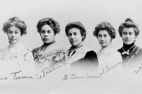 グネーシン姉妹 写真提供:wikipedia.org