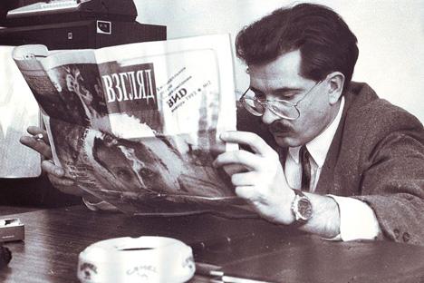ウラジスラフ・リスチエフ氏、1992年=写真提供:New Look Team