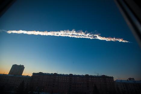 チェリャビンスクの隕石雨
