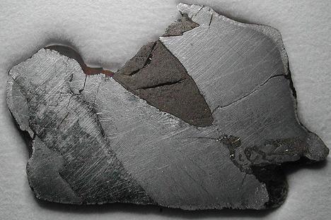シホテアリニ隕石落下 写真提供:wikipedia.org