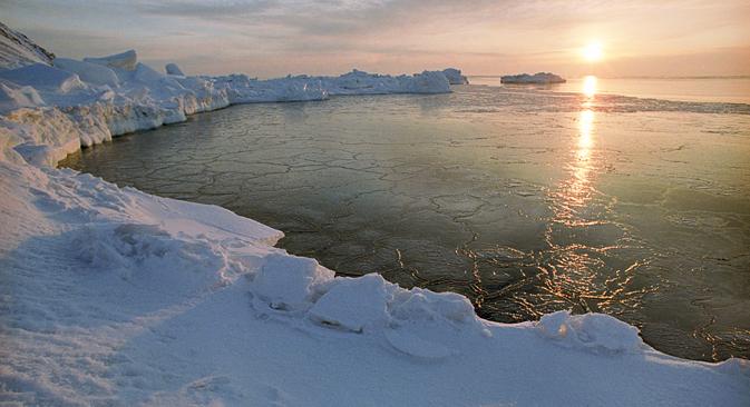 数千キロメートルも離れたアジア太平洋地域の国々までもが、北極に関心を示し、北極圏プロジェクトに参加しようとしている =ロシア通信撮影