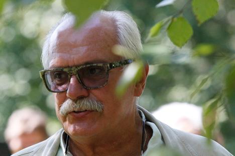 ニキータ・ミハルコフ監督 =ロシア通信撮影