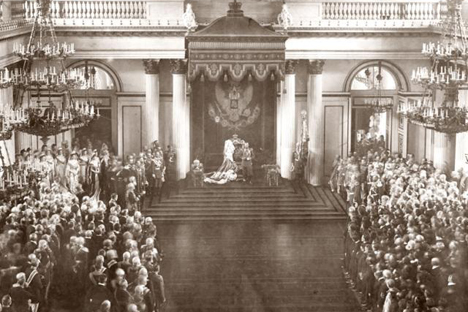 1906年4月27日に、第1国会(ドゥーマ)が開会した 写真提供:wikipedia.org