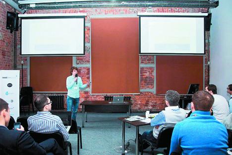 キリル・チェルカノフのプレゼンテーション =Greenfield project提供