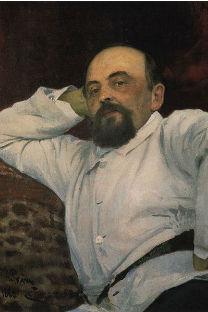 レーピンによる肖像画