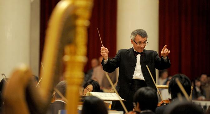 パスカル・ヴェロ氏、仙台フィルハーモニー管弦楽団常任指揮者=PhotoXPresss撮影