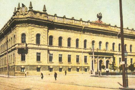 ロシア帝国国立銀行、1900年 写真提供:wikipedia.org