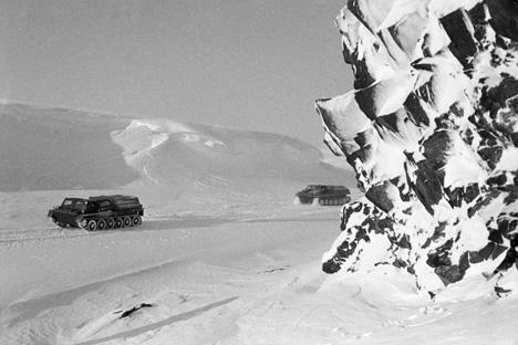 チェリュースキン岬、1972年=ロマン・デニーソフ撮影/ロシア通信