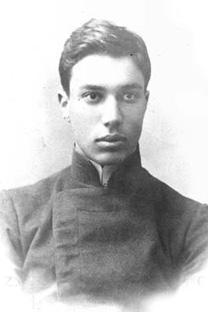ボリス・パステルナーク、20歳時。