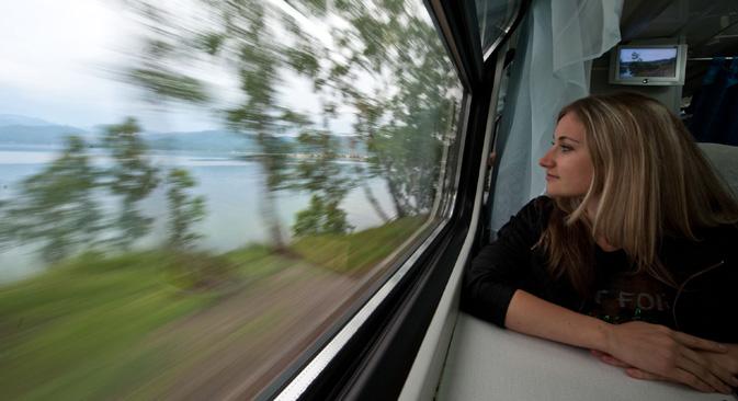 モスクワとカザンを結ぶ高速鉄道...