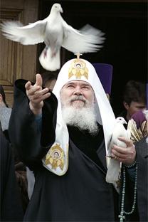 ロシア正教会の総主教アレクシイ2世 写真提供:wikipedia.org