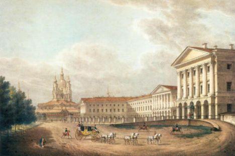 サンクトペテルブルクの聖エカテリーナ女学院 写真提供:wikipedia.org