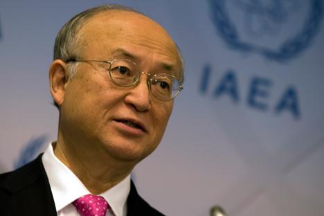 国際原子力機関 (IAEA)の天野之弥事務局長 =ディーン・カルマ / IAEA撮影
