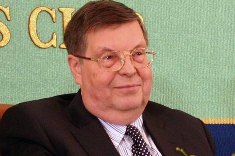 E・V・アファナシエフ、駐日ロシア連邦特命全権大使 写真提供:在日ロシア連邦大使館