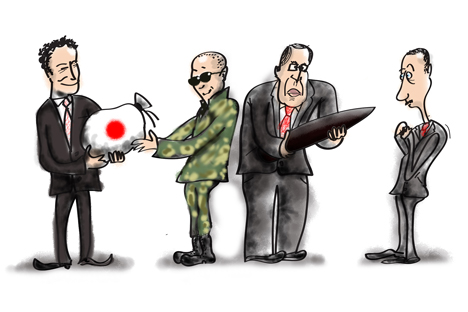 ロシアと日本は、シリア問題をめぐっては、いわばバリケードをはさんで対峙していると言える  =ニヤズ・カリム