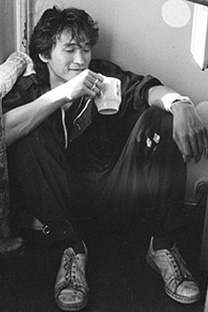 ヴィクトル・ツォイ、1986年=イゴリ・ムーヒン撮影