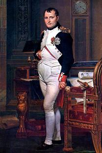 ナポレオン・ボナパルト」、ジャック=ルイ・ダヴィッド