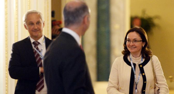 女性が中央銀行の総裁になるのは初めて =タス通信撮影