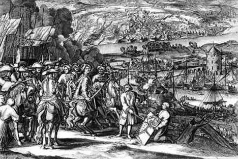 アゾフ要塞の奪取 画像提供:wikipedia.org