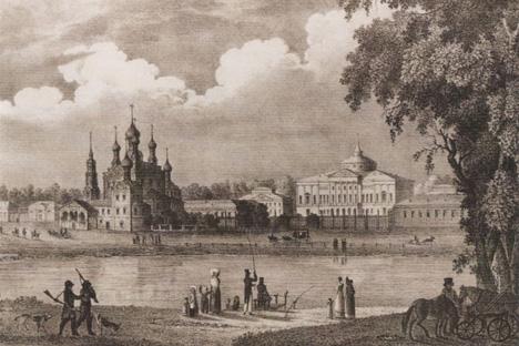 オスタンキノ宮殿、19世紀。