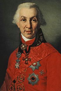 ガヴリーラ・デルジャーヴィン、1811年 画像提供:wikipedia.org