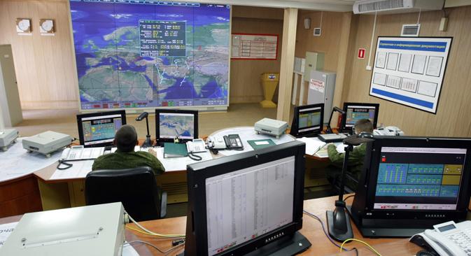 ロシア連邦国防省は先週、2020年までのロシアの陸、海、空軍の発展・構築計画という、これまで完全に機密とされてきた情報をインターネットにアップロードした =タス通信撮影