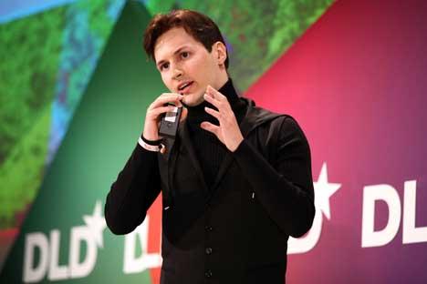 ロシア最大のソーシャル・ネットワーキング「フコンタクチェ」の創設者である、パーベル・ドゥロフ氏 =Getty Images/Fotobank撮影